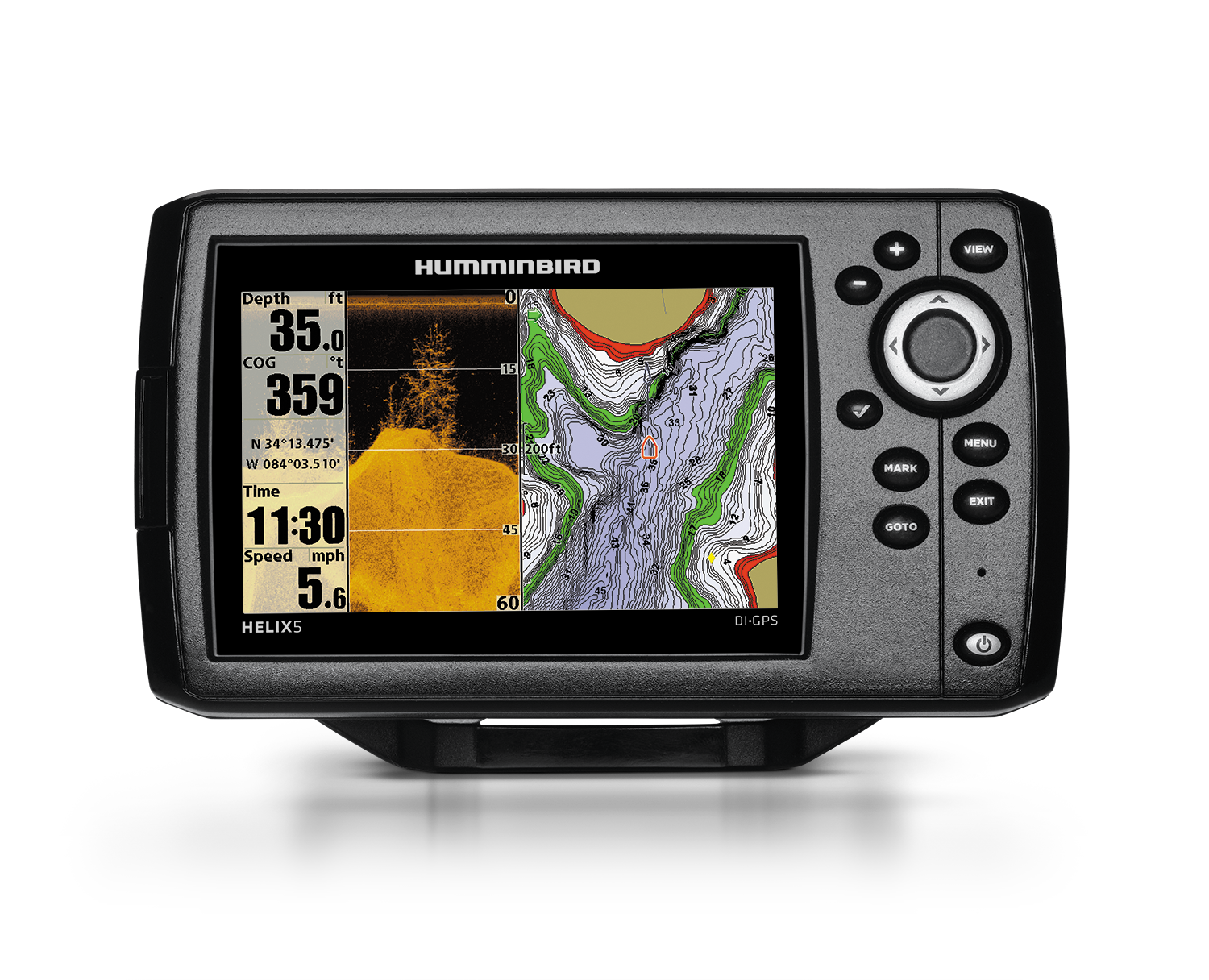Helix 5 DI GPS G2 with Navionics Plus